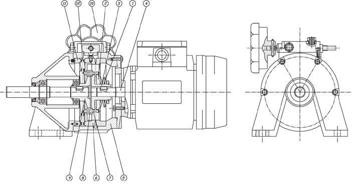 Мотор вариатор схема